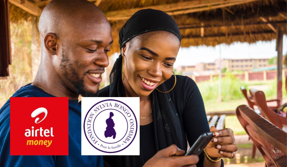 airtel fondation Sylvia Bongo Ondimba