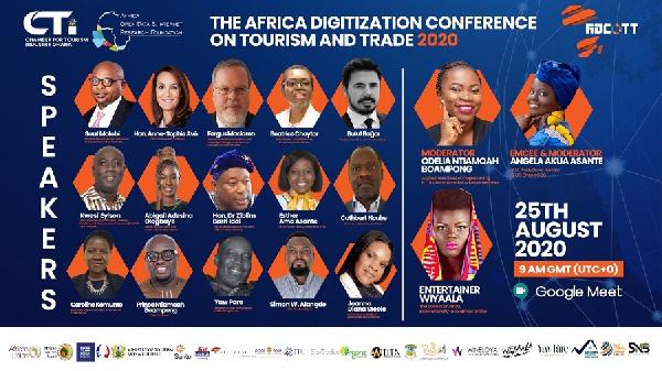 Conférence sur la numérisation de l'Afrique pour le tourisme et le commerce