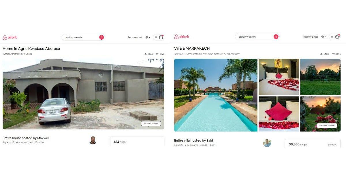 airbnb maroc ghana