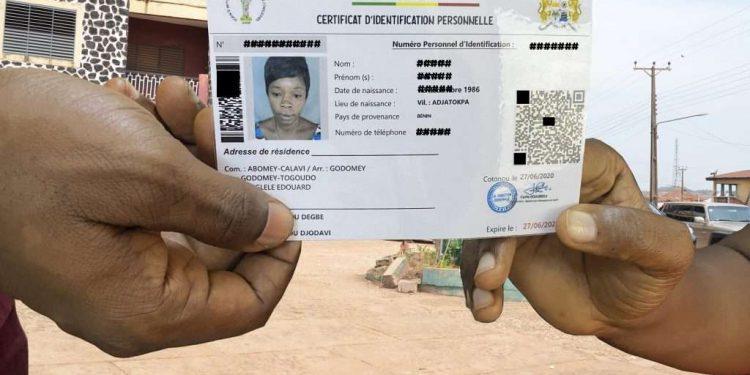 carte d'identité biométrique bénin