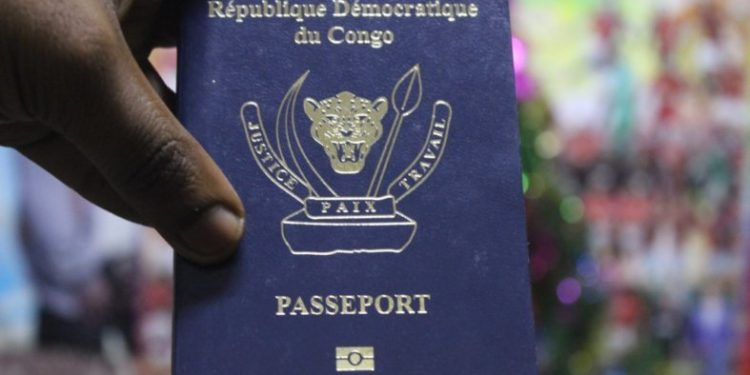 passeport biométrique rdc